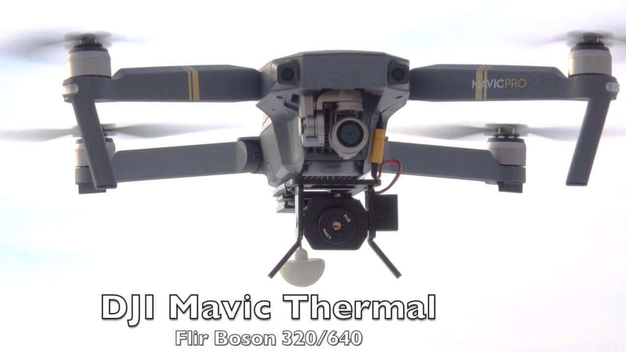 Thermal Imaging DJI Mavic 2 Drone- Tronik LTD